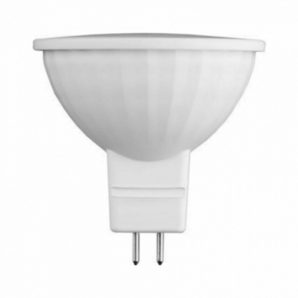 Лампа GU5.3 220в 7W с/д LED 6400K SAFFIT